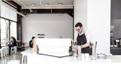 Coffee house barista.