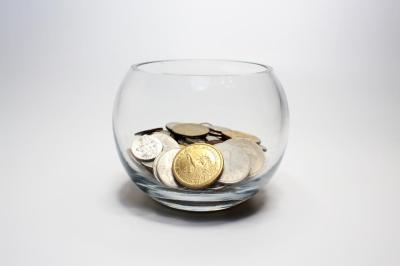 Bowl of change.