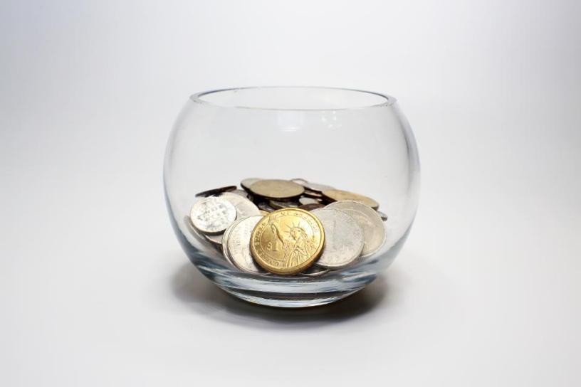 Bowl of change.