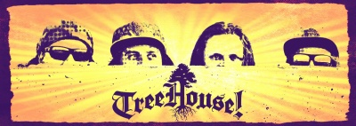 4 members of Reggae band, Treehouse.